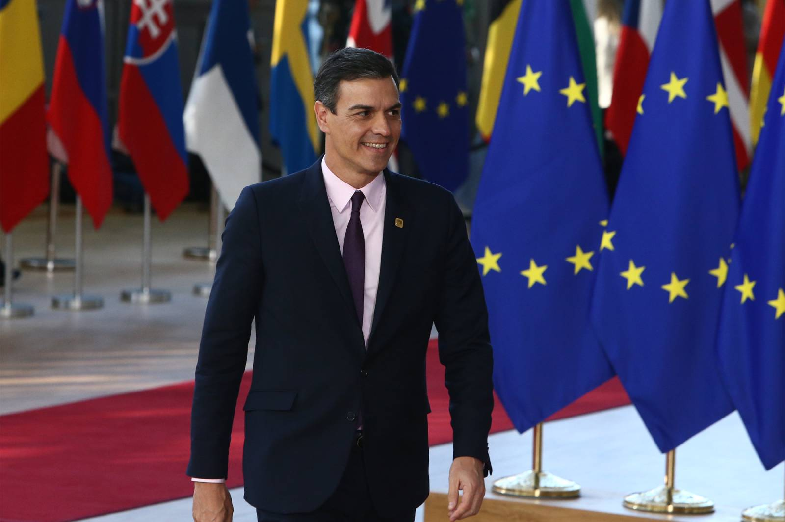 Pedro Sánchez. Fotografía de La Moncloa
